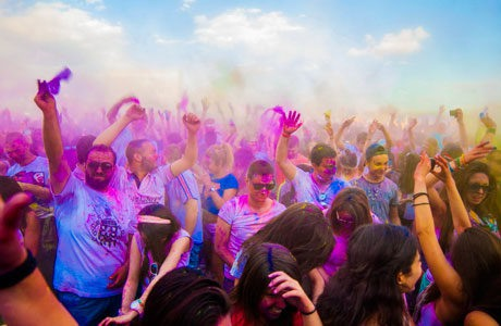 From Psychedelic Trance Parties to World Festivals and Exhibitions that Attract Hundreds of Thousand